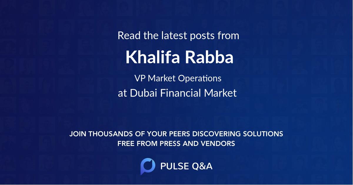 Khalifa Rabba