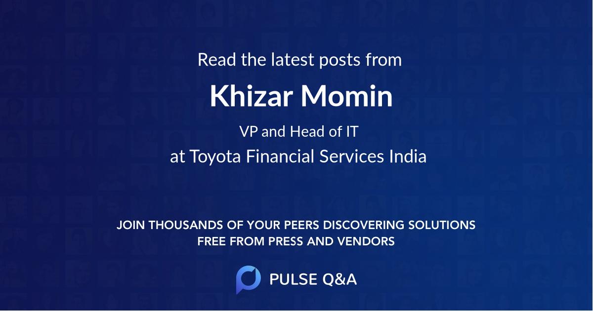 Khizar Momin
