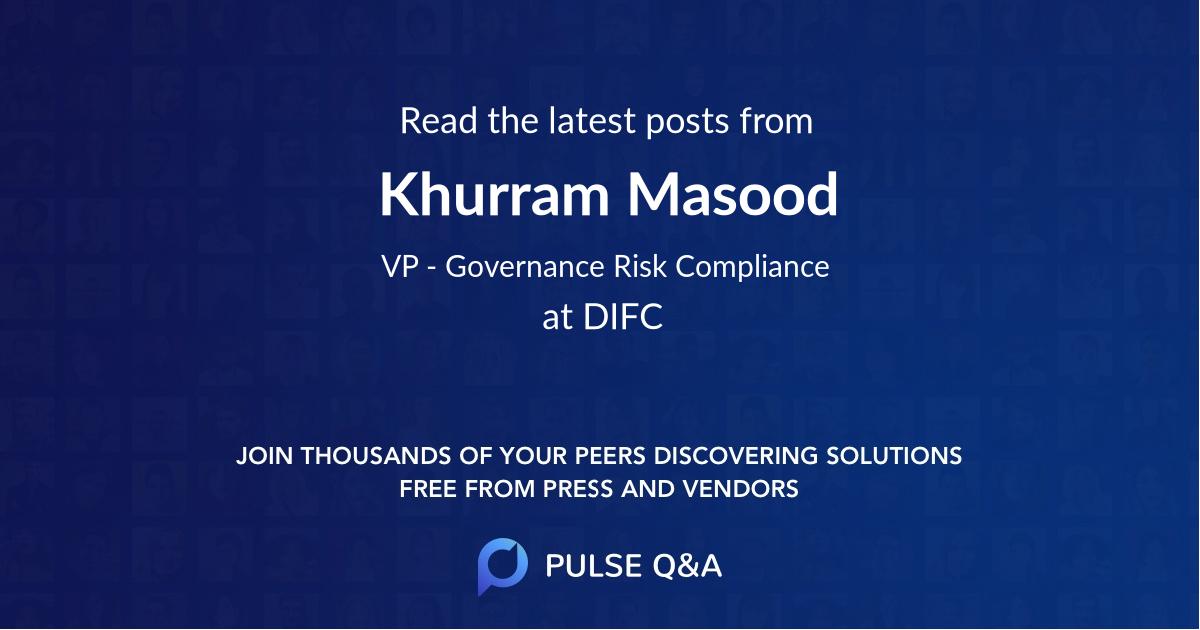 Khurram Masood