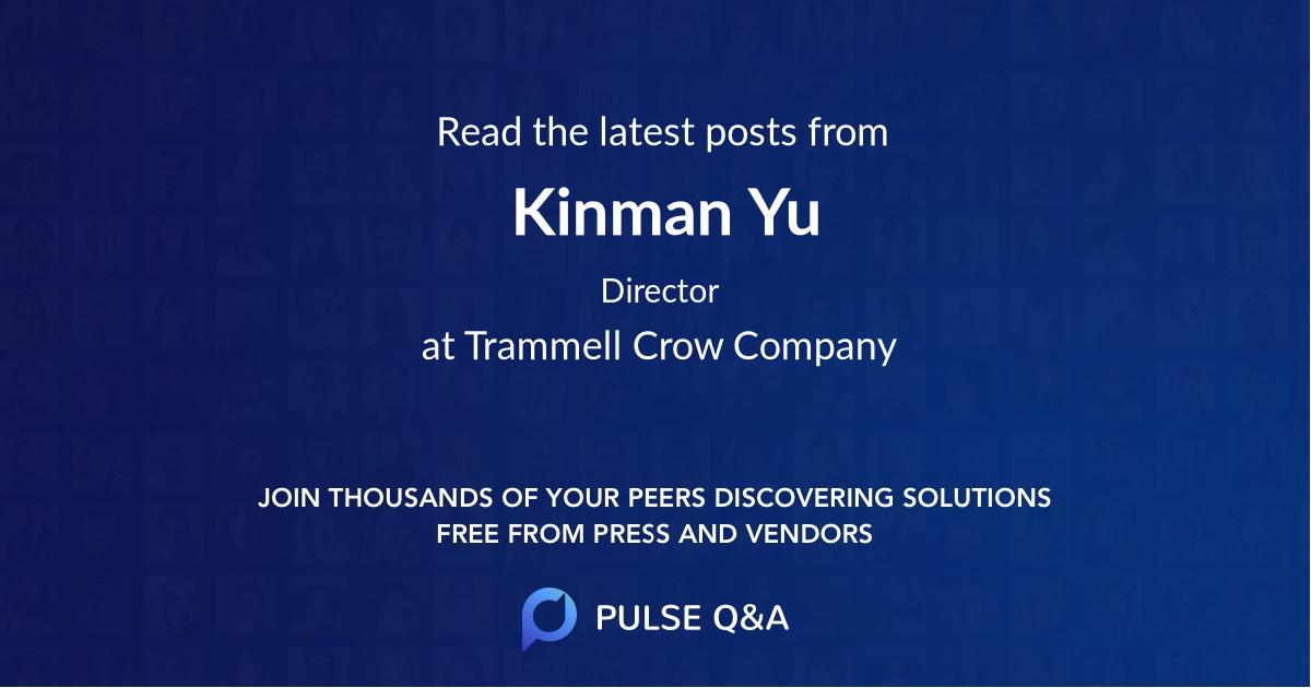 Kinman Yu