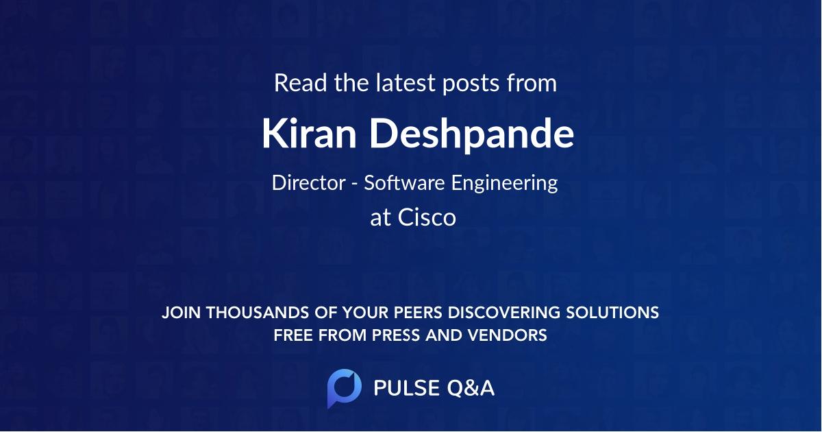 Kiran Deshpande