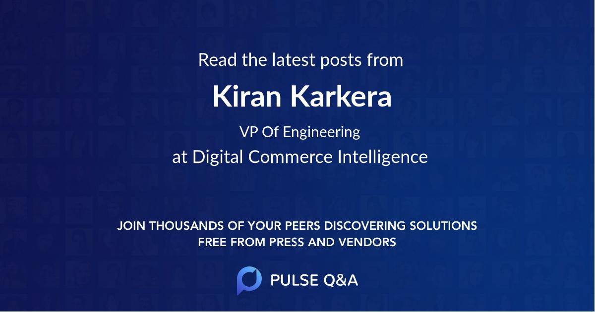 Kiran Karkera