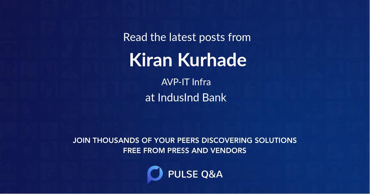 Kiran Kurhade