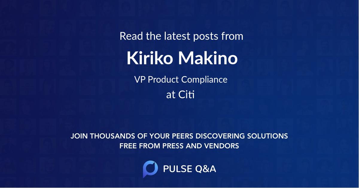 Kiriko Makino