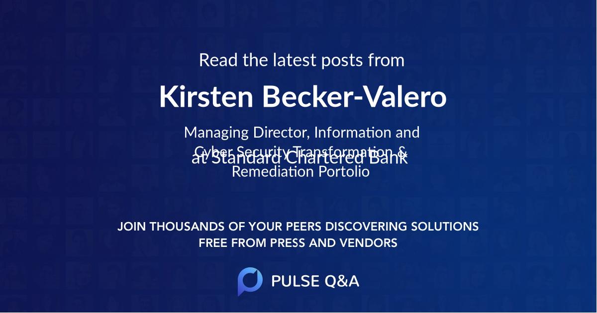 Kirsten Becker-Valero
