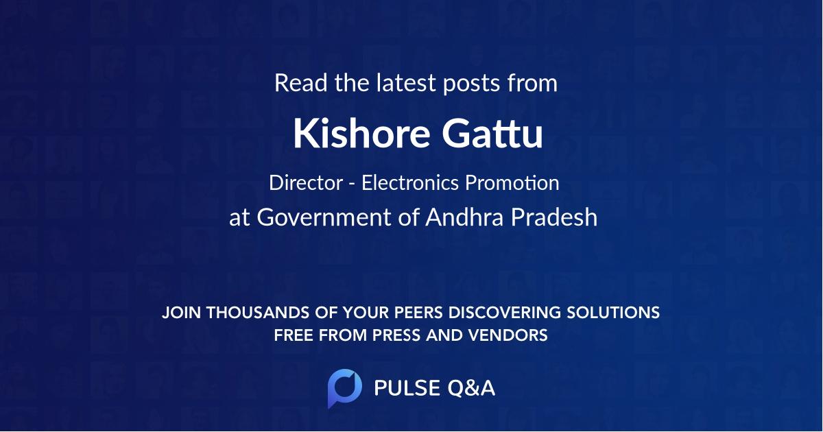 Kishore Gattu
