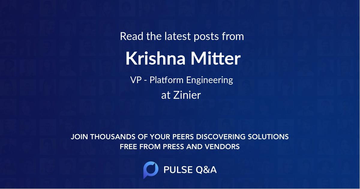 Krishna Mitter