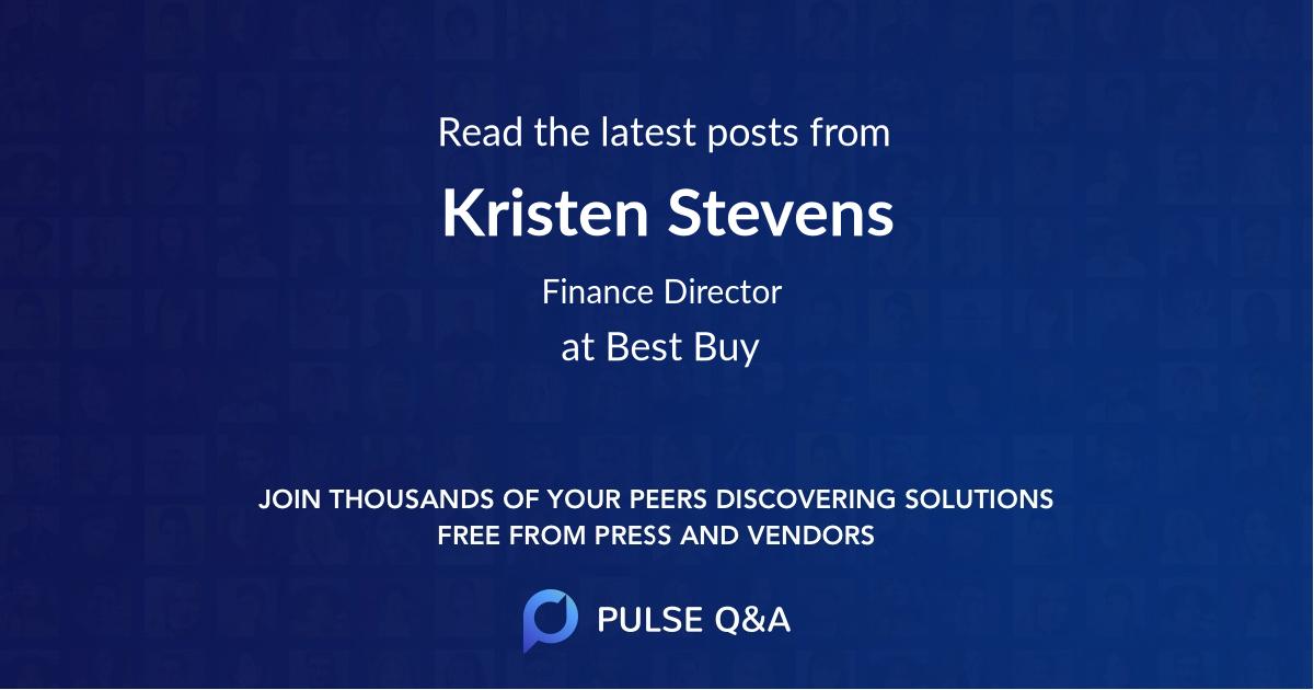 Kristen Stevens