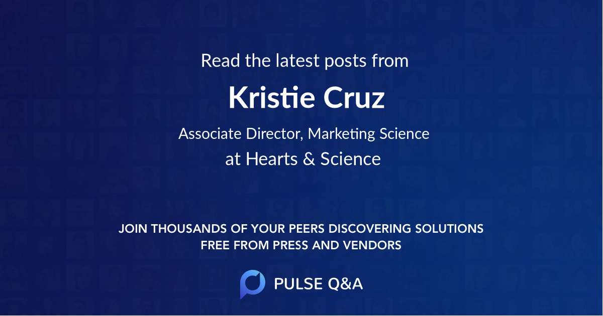 Kristie Cruz