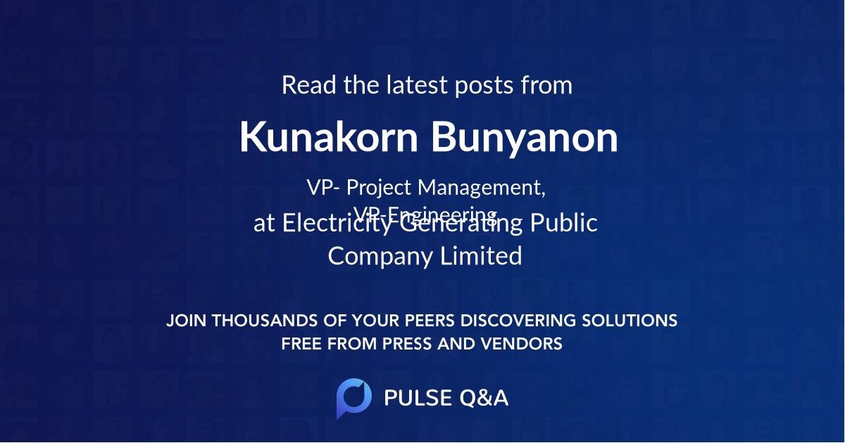 Kunakorn Bunyanon