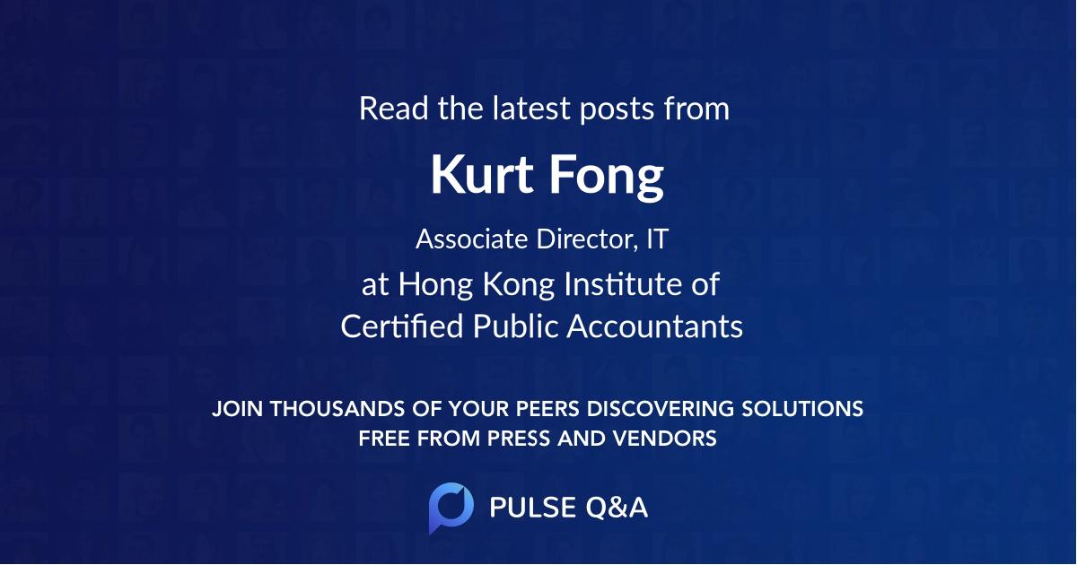 Kurt Fong