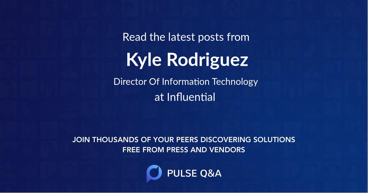 Kyle Rodriguez