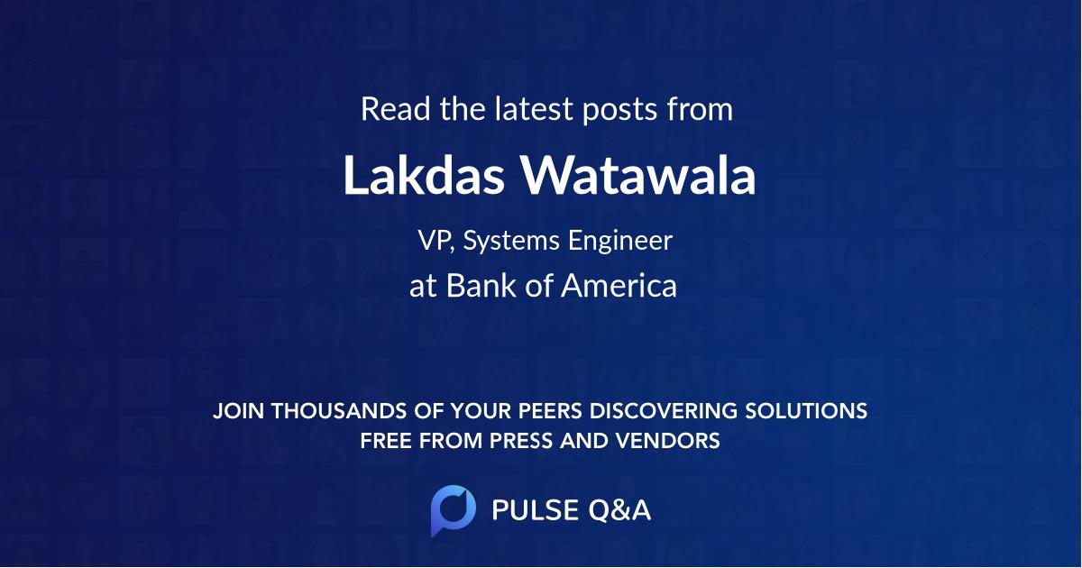 Lakdas Watawala