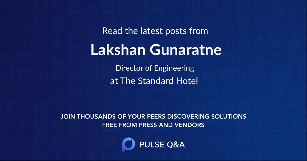 Lakshan Gunaratne