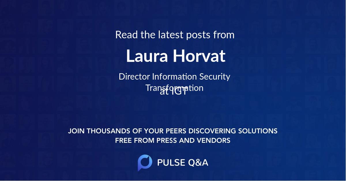 Laura Horvat