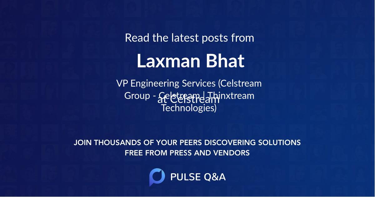 Laxman Bhat