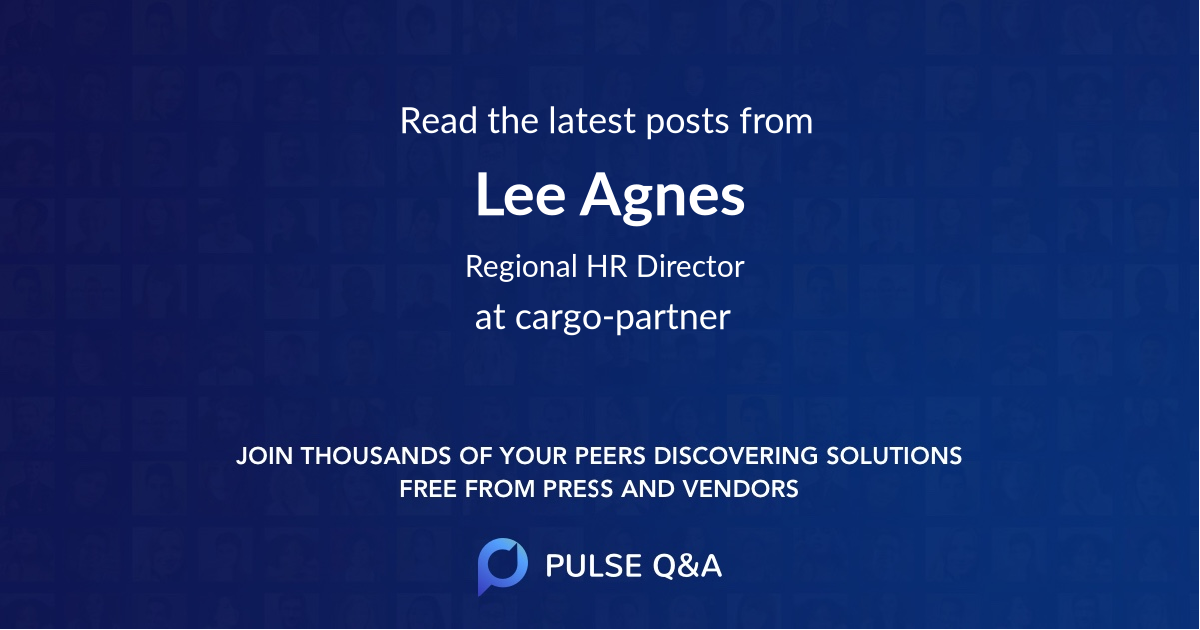 Lee Agnes