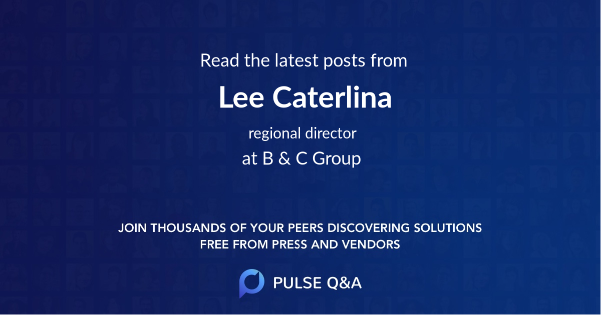 Lee Caterlina