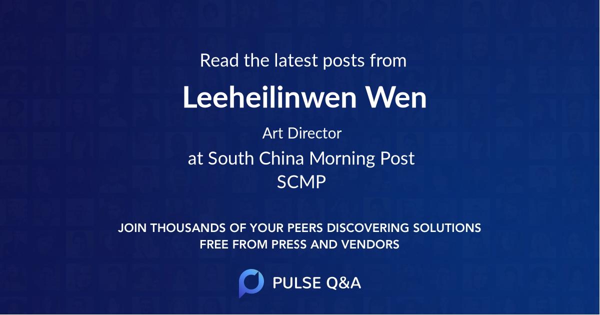 Leeheilinwen Wen