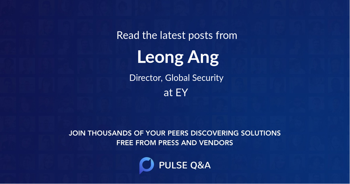 Leong Ang