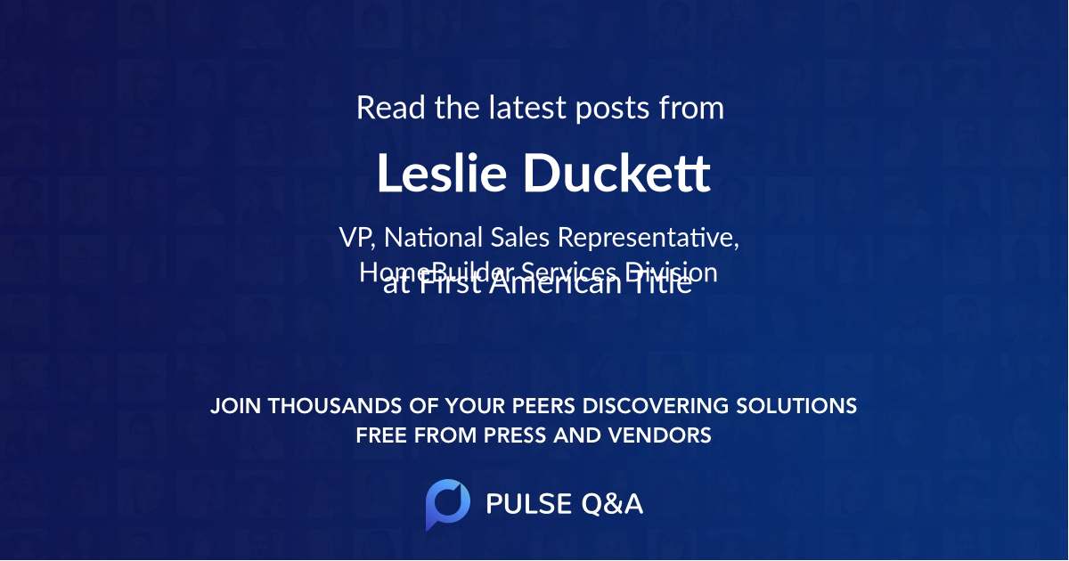 Leslie Duckett