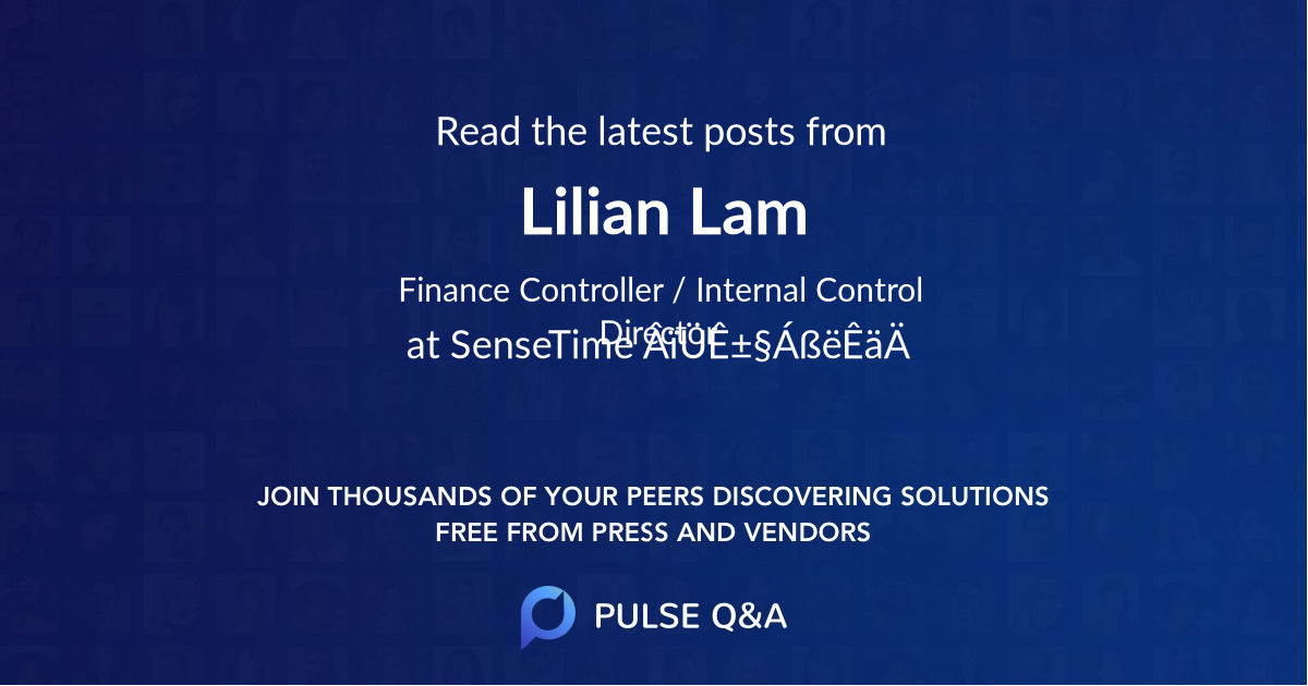 Lilian Lam