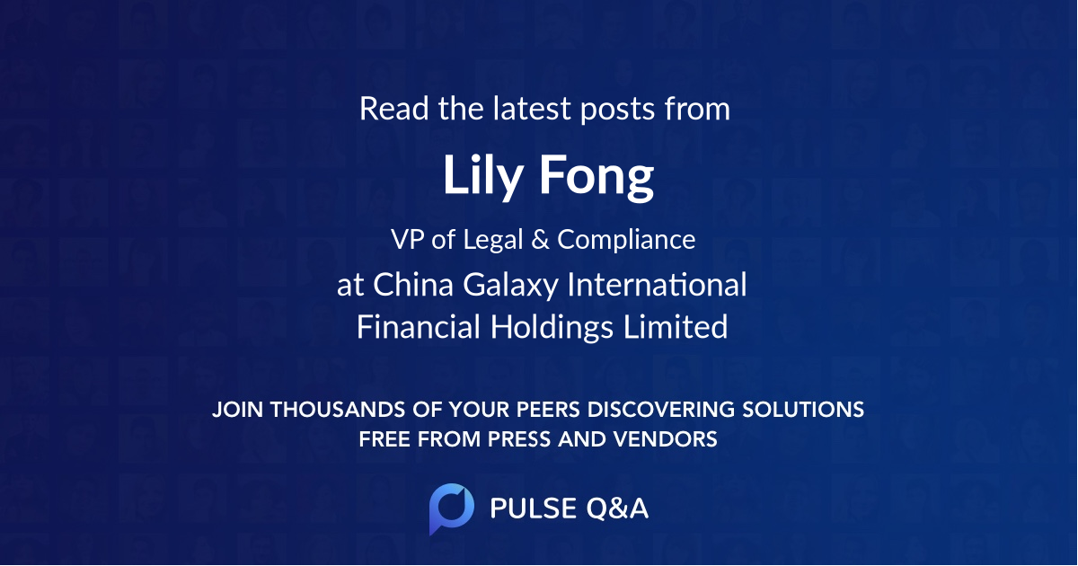 Lily Fong