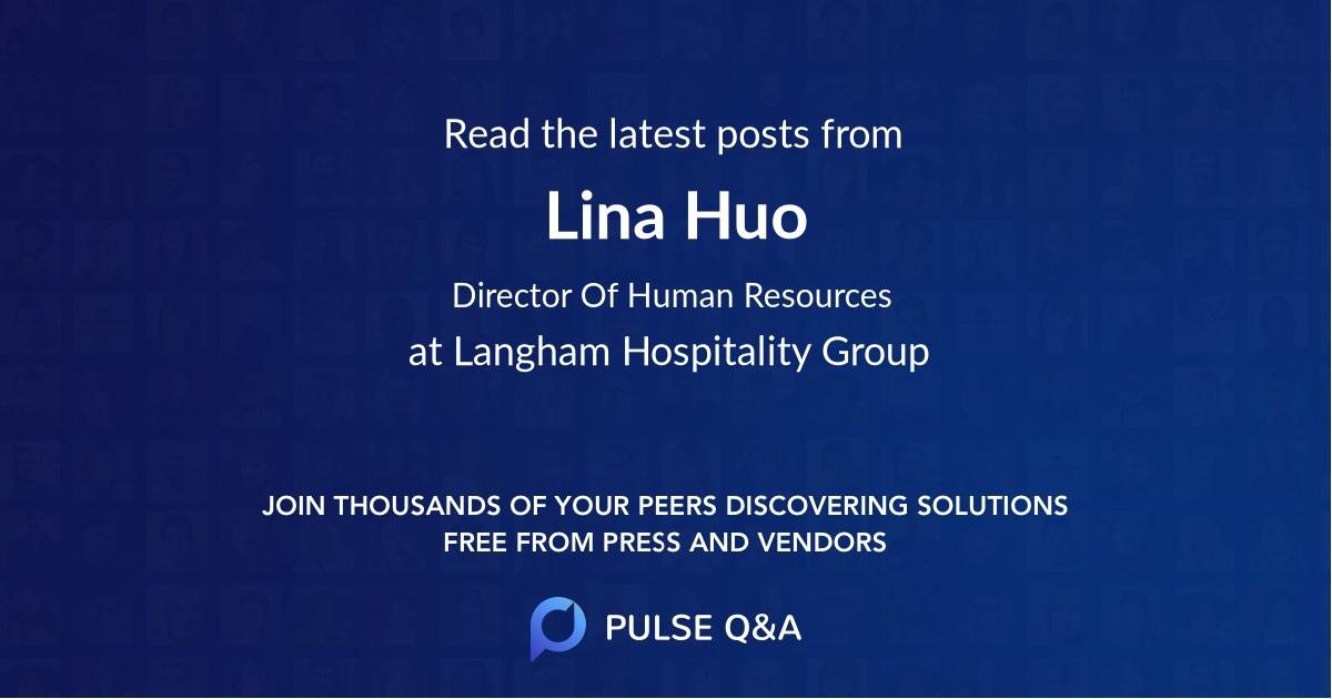 Lina Huo