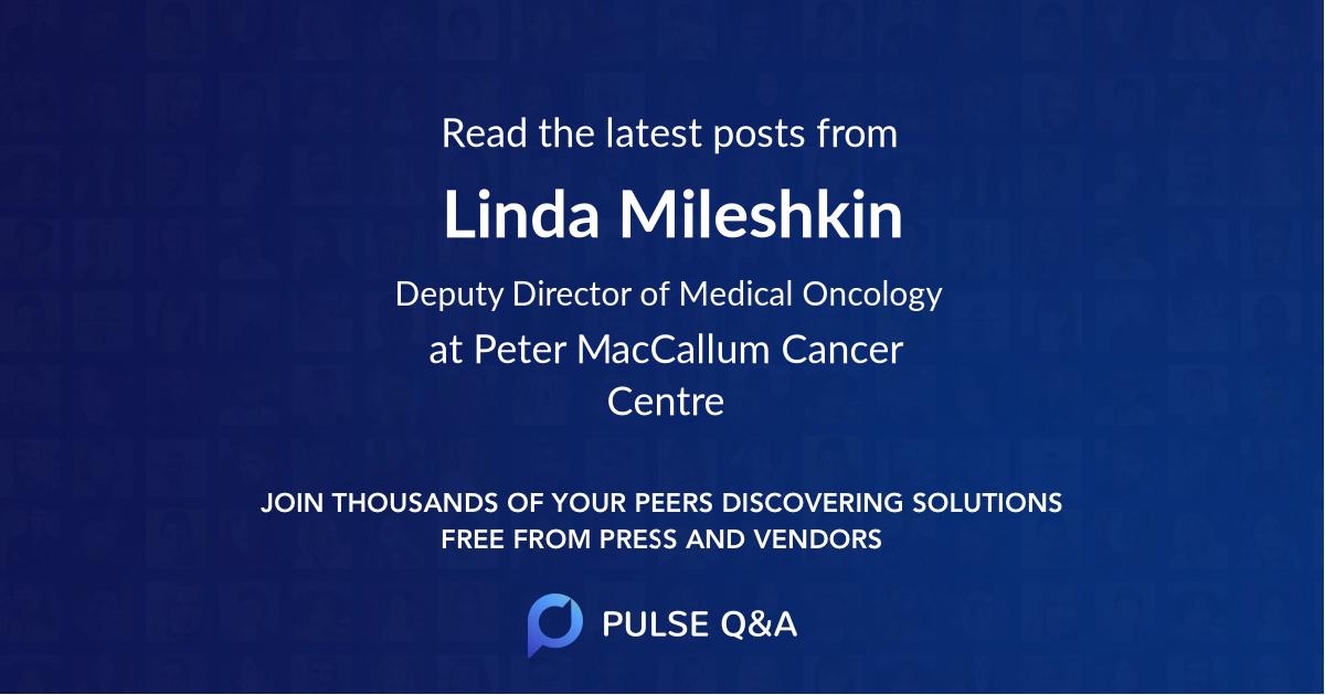 Linda Mileshkin
