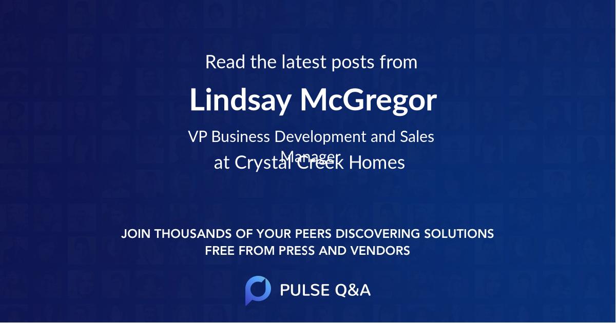 Lindsay McGregor
