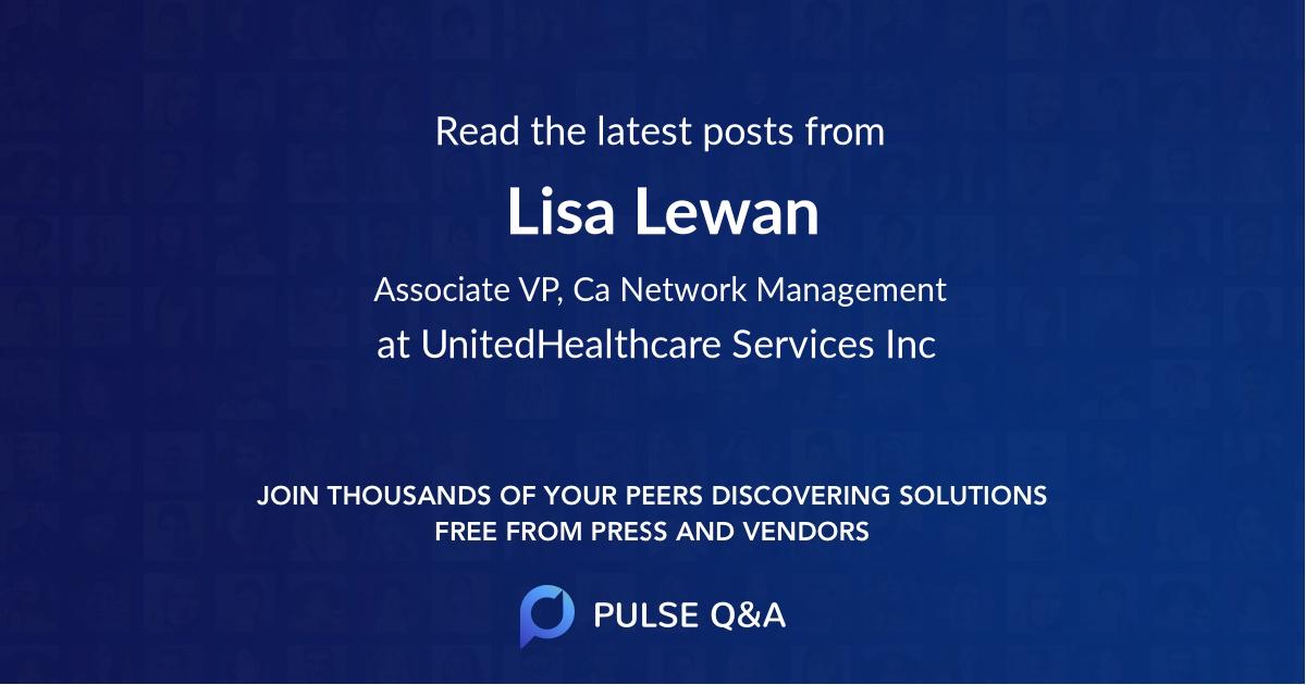 Lisa Lewan
