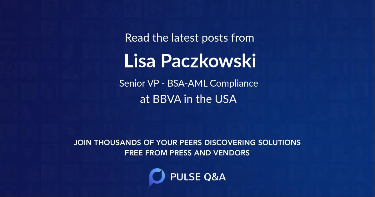 Lisa Paczkowski