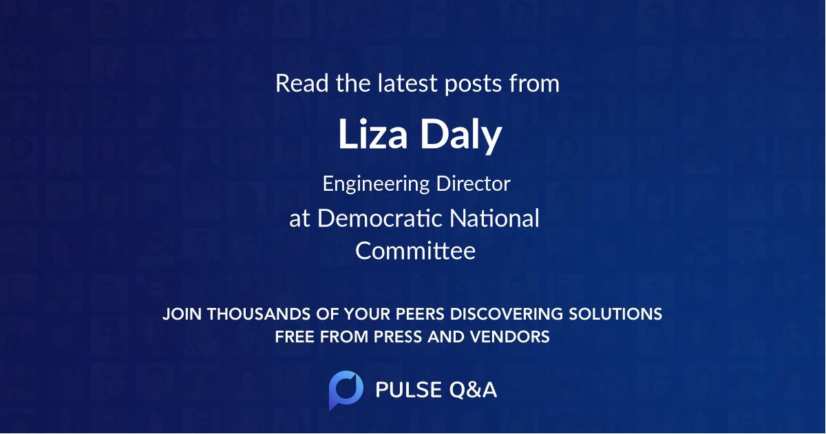 Liza Daly