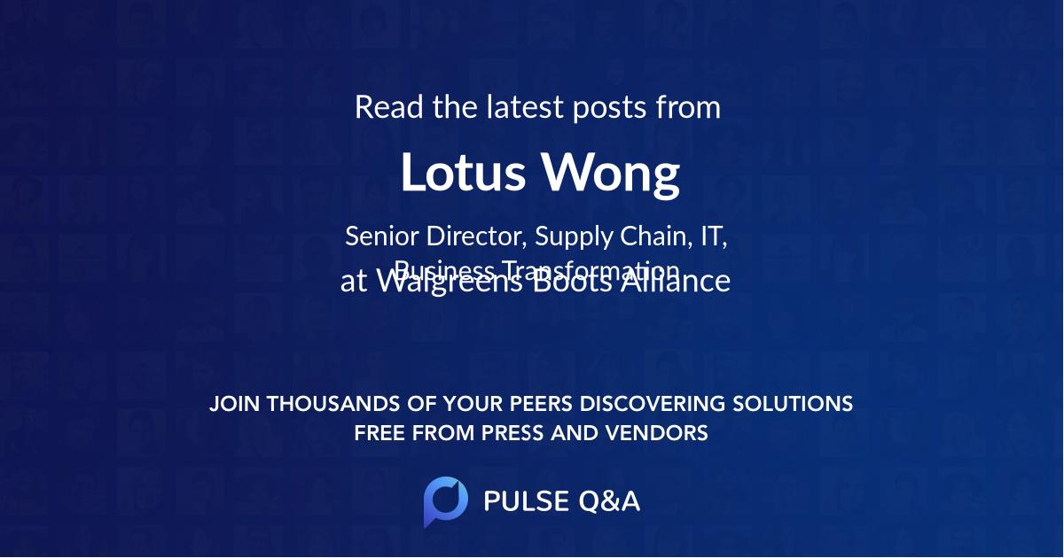 Lotus Wong