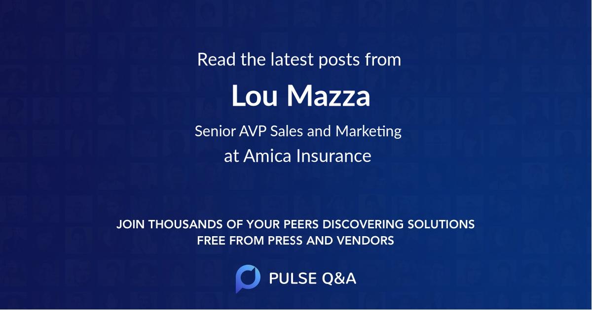 Lou Mazza