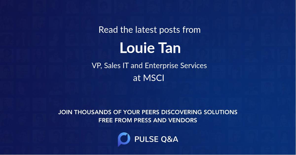 Louie Tan