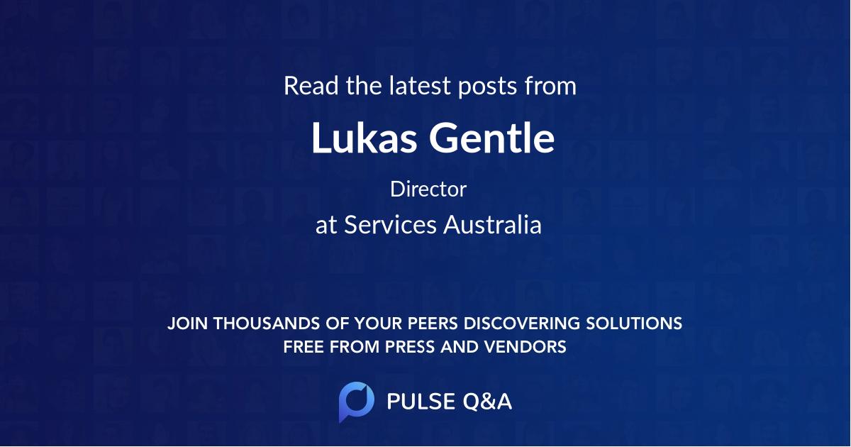Lukas Gentle