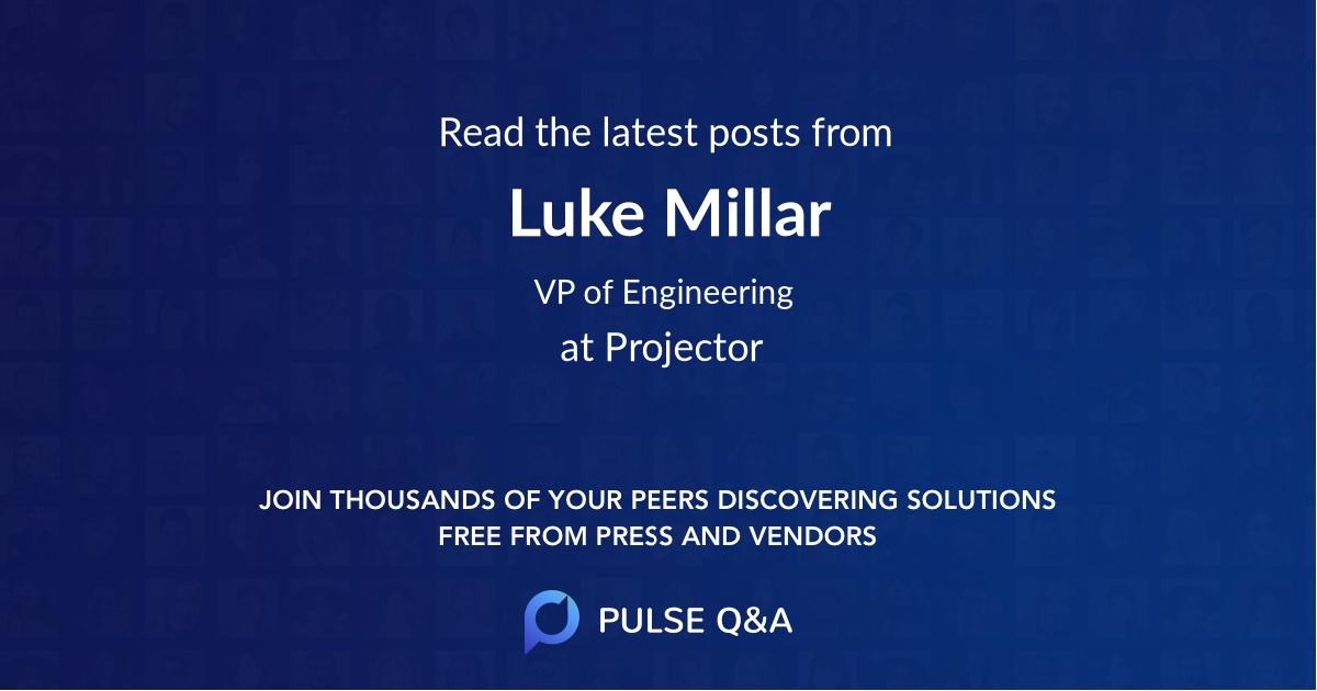 Luke Millar