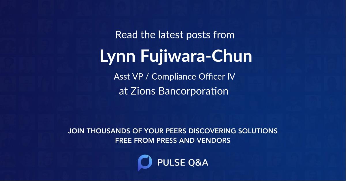 Lynn Fujiwara-Chun