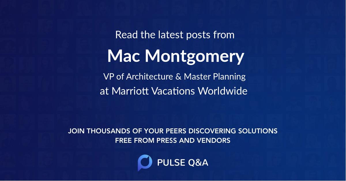 Mac Montgomery