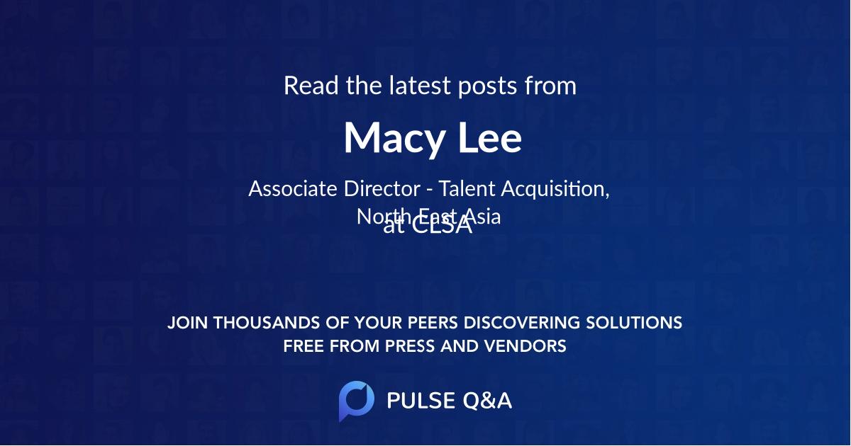 Macy Lee