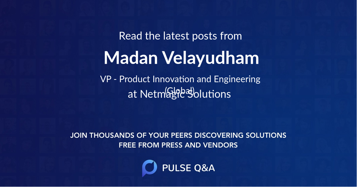 Madan Velayudham