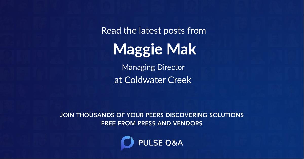 Maggie Mak