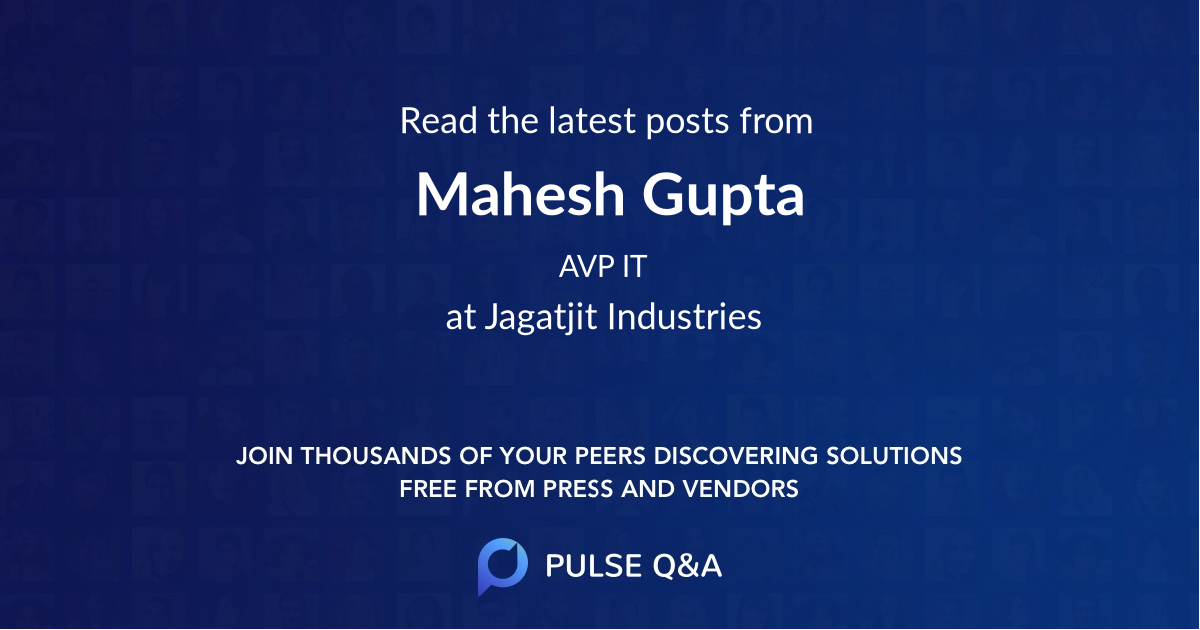 Mahesh Gupta