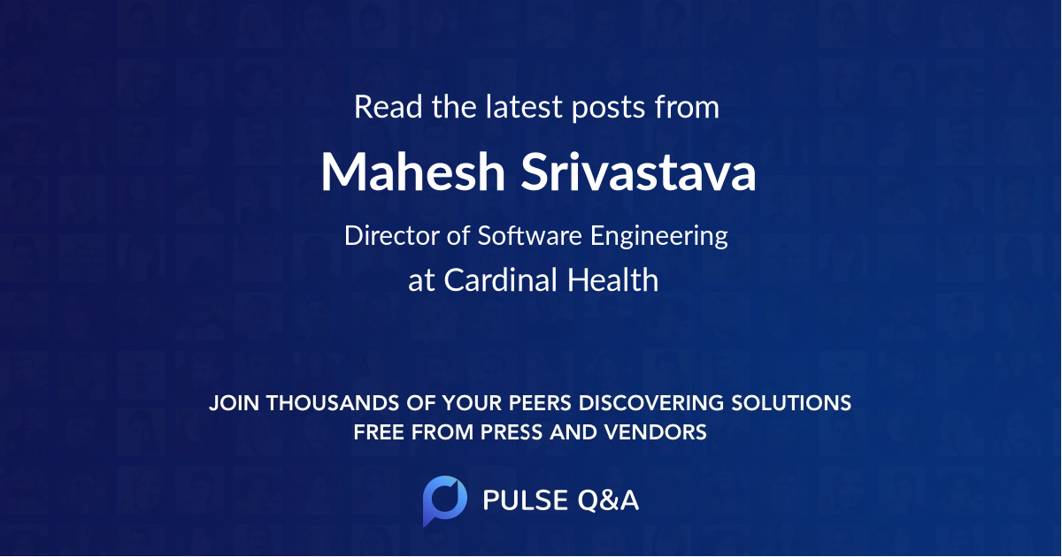 Mahesh Srivastava