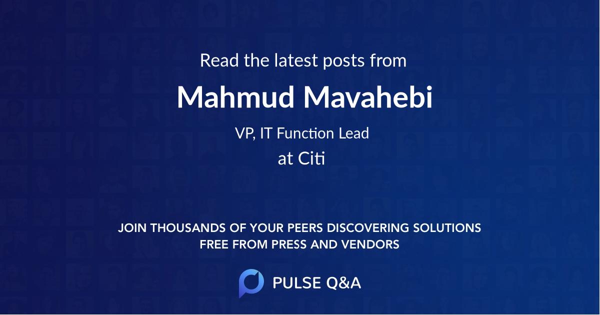 Mahmud Mavahebi