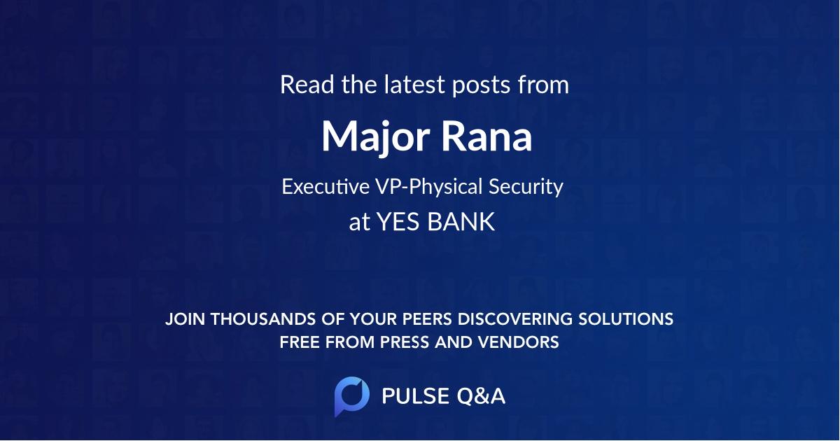 Major Rana