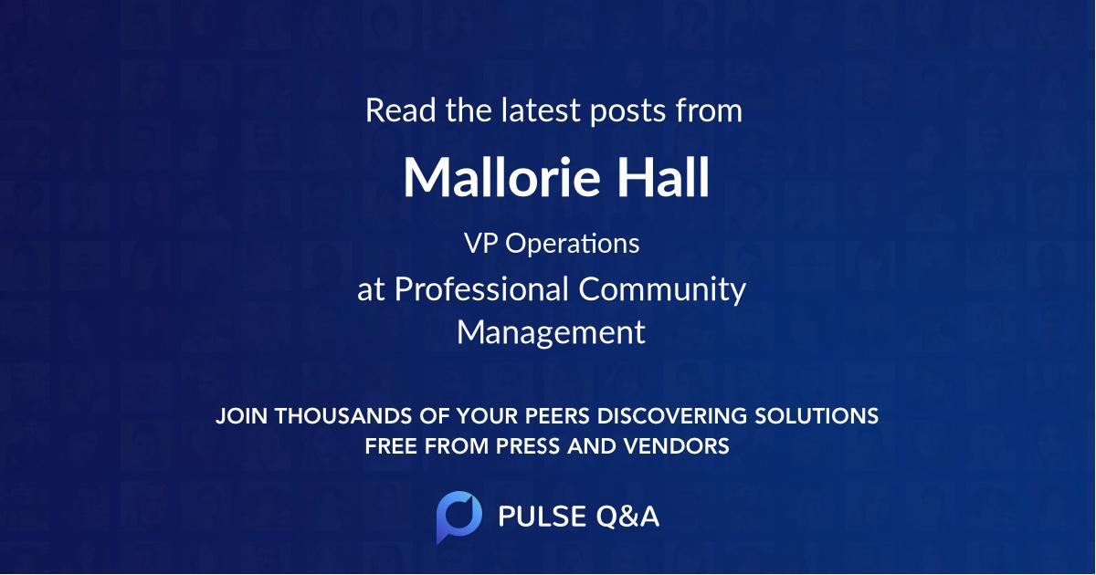 Mallorie Hall