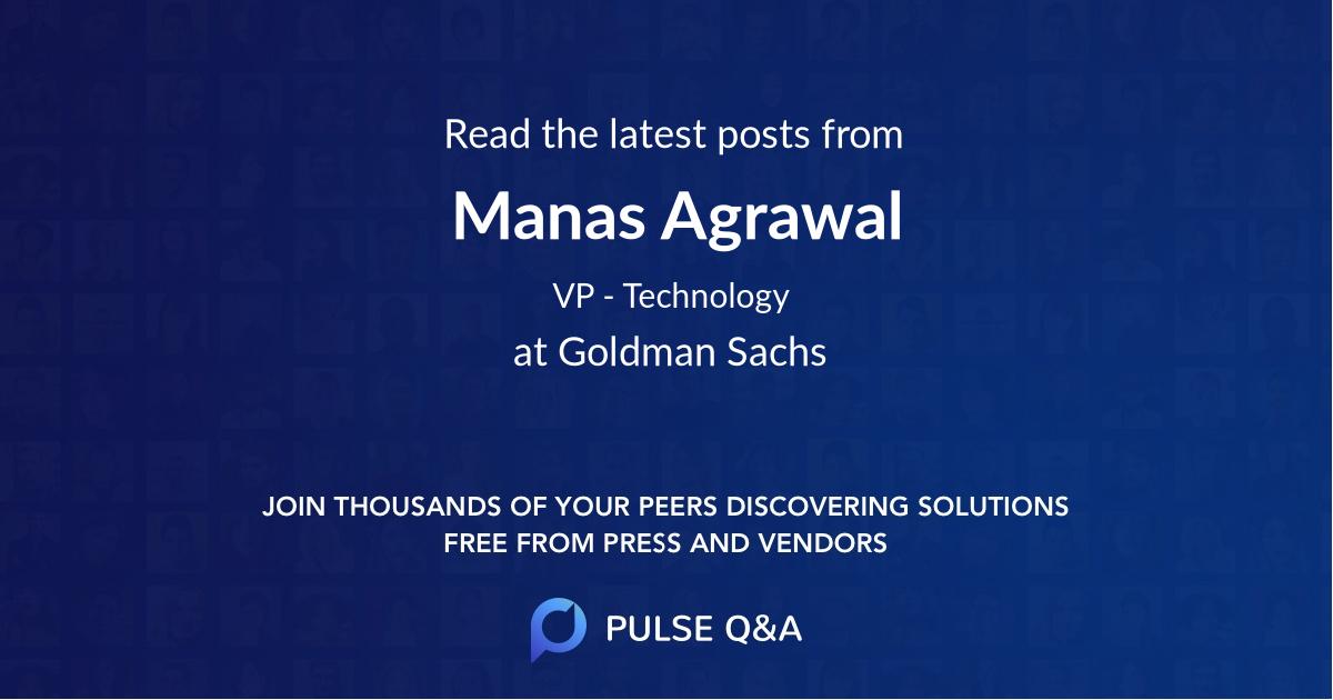 Manas Agrawal