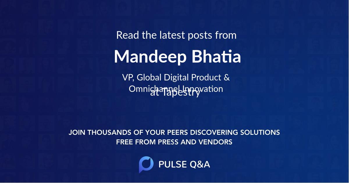 Mandeep Bhatia